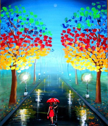 Artwork Wallk through the park 4