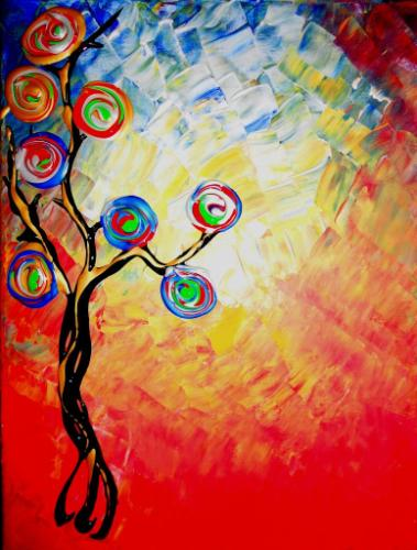 Artwork The rainbow tree