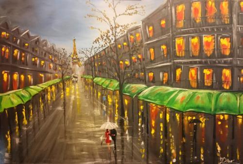 Artwork Love in Paris