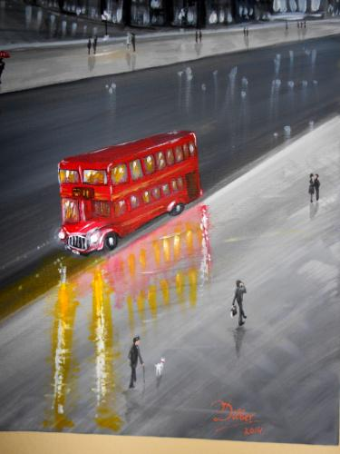 London Westminster by Dilber - Use the 'Create Similar' button to commission an artist to create your own artwork.