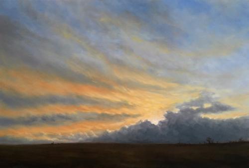 Artwork Winter Skies - Evening Sun