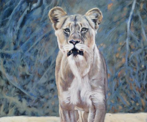 Lioness by Louise - Use the 'Create Similar' button to commission an artist to create your own artwork.