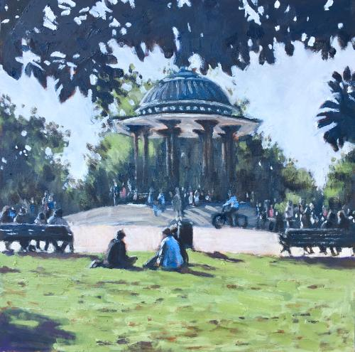 Artwork Clapham Common Sunday