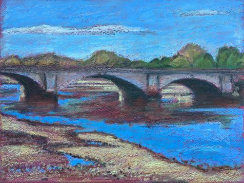 Artwork Putney Bridge colour study