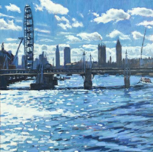 Artwork The Thames from Waterloo Bridge