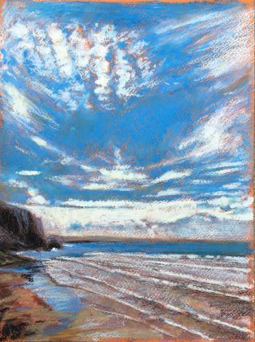 Artwork Watergate Bay big sky
