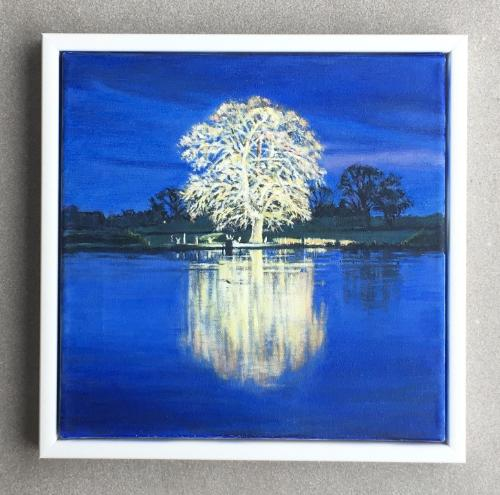 Wedding reflection commission by Louise - Use the 'Create Similar' button to commission an artist to create your own artwork.