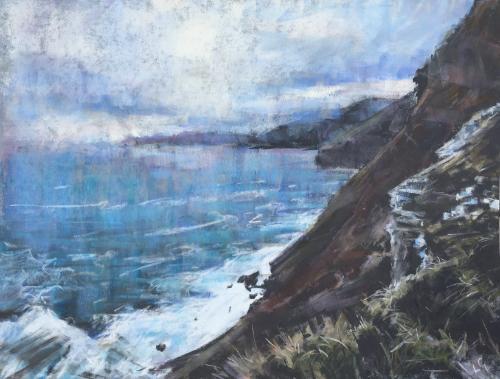 Artwork North Cornwall coast