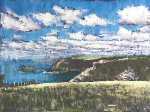 Artwork Tintagel to Boscastle, Cornwall