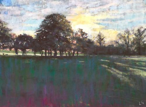 Artwork Tree line, Wandsworth Common