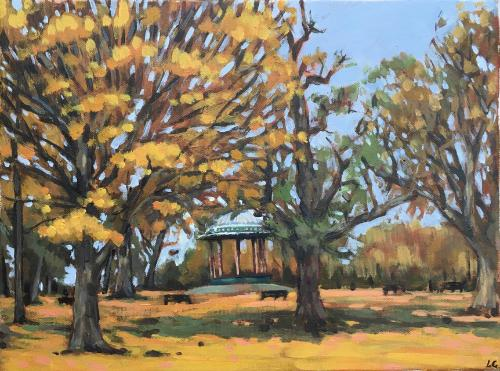 Artwork Clapham Common autumn