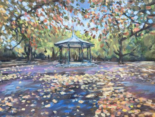 Artwork Battersea Park autumn