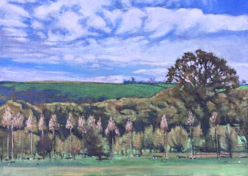 Landscape commission by Louise - Use the 'Create Similar' button to commission an artist to create your own artwork.