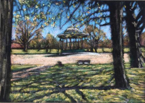 Artwork Spring on Clapham Common