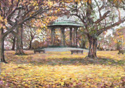 Artwork Autumn on Clapham Common