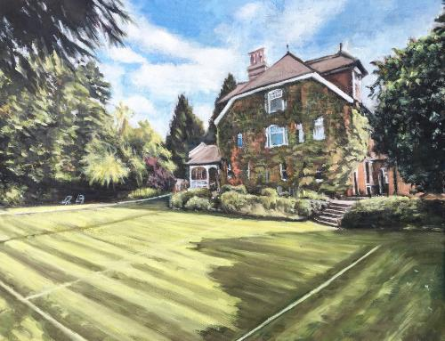 Artwork Commission of house and garden