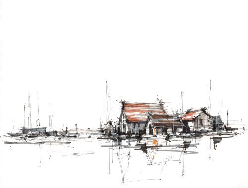 Artwork Essex Estuary
