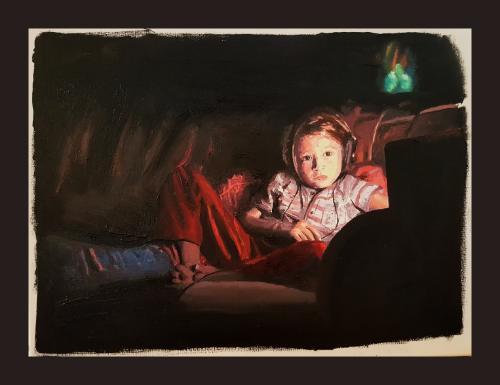 Artwork Dylan, late evening