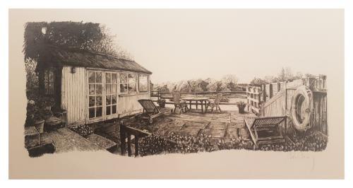 Artwork Back Garden - Grove park, London