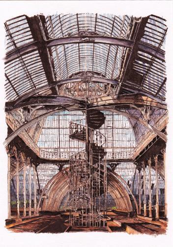 Artwork Palm House, Kew Gardens