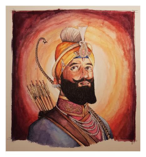 Artwork Guru Gobind Singh Ji