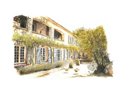 Artwork Villa, South of France
