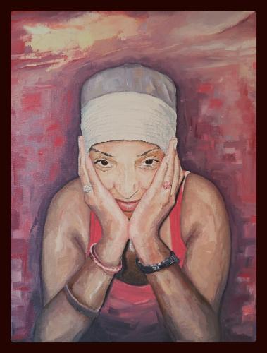 Artwork Portrait of Client's Wife