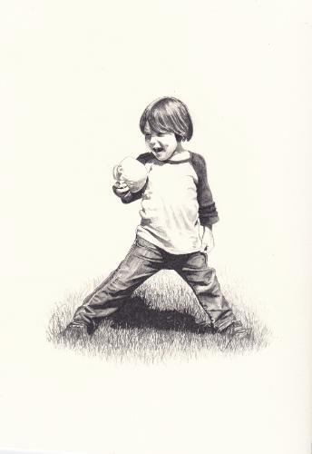 Artwork Portrait of Client's child
