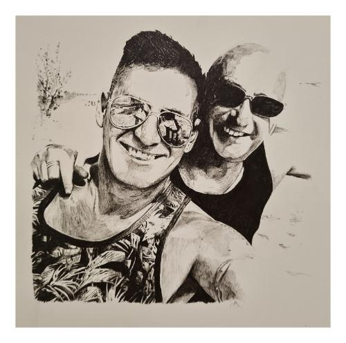STEVE AND GARY by Daniel333 - Use the 'Create Similar' button to commission an artist to create your own artwork.