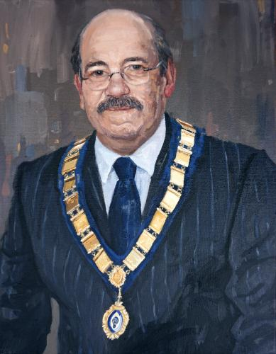 Artwork Paul Ursell - The Mayor of St. Neots