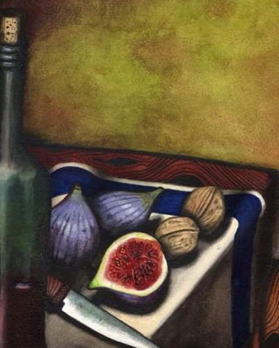 Artwork Whisky, Figs and Walnuts