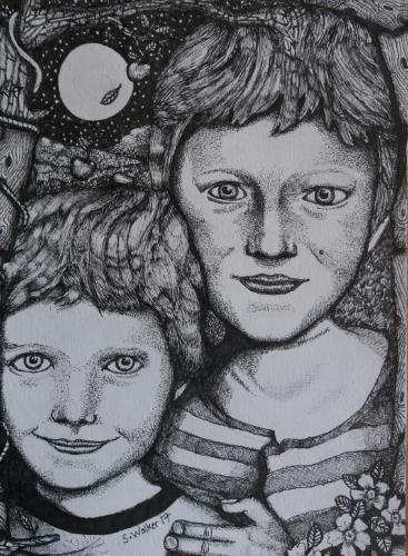 Artwork Children's Portrait