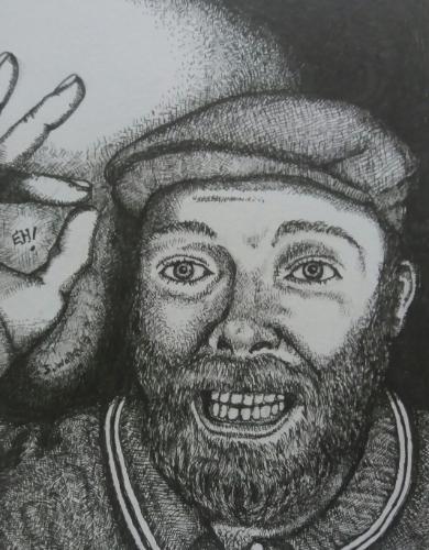 Artwork Portrait of a friend
