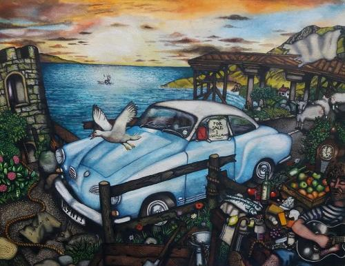 Artwork Kharmann Ghia Coupe
