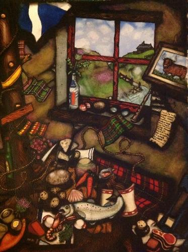 Fae Scotland by Scott - Use the 'Create Similar' button to commission an artist to create your own artwork.