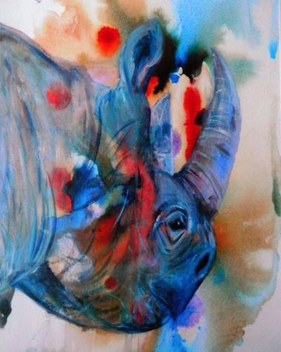 Artwork Disappearing Rhino