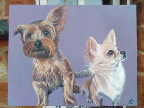 Artwork Alfie and Hugo