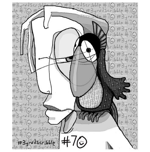 Artwork #3yroldscribble 70