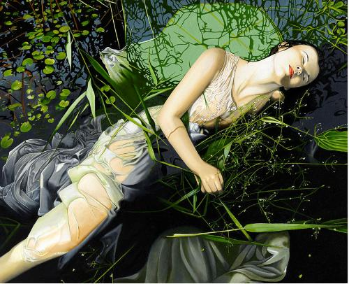 Artwork A modern Ophelia
