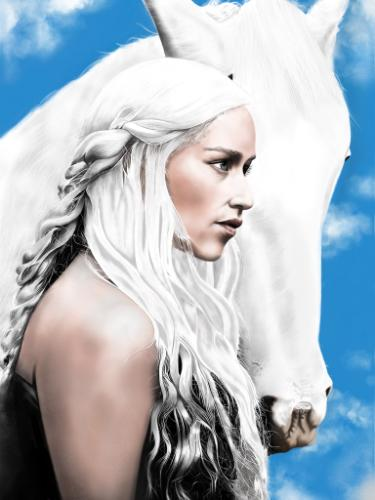Artwork Mother of dragons