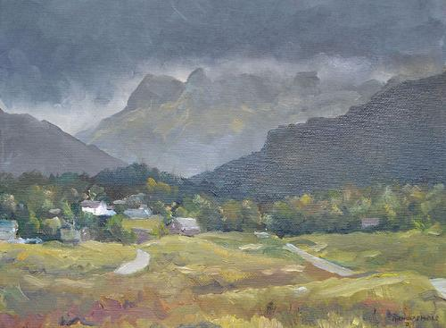 Artwork View towards Langdale, The Lake District