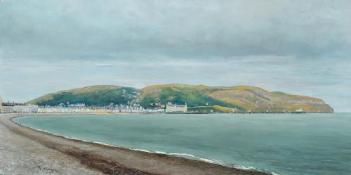 Artwork Llandudno promenade and Great Orme