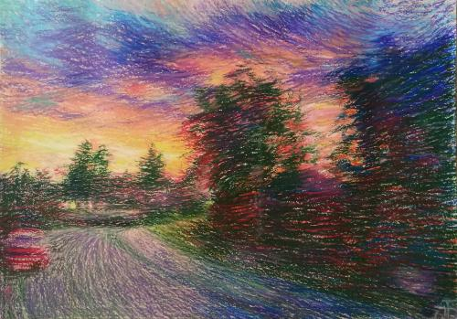 Artwork Dawn at Kensal Rise
