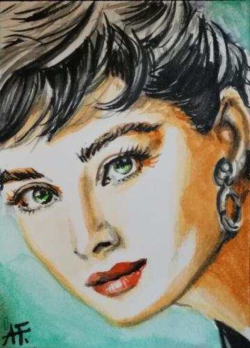 Artwork Audrey Hepburn