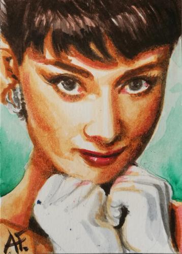 Artwork Audrey Hepburn 2