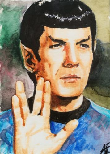 Artwork Spock