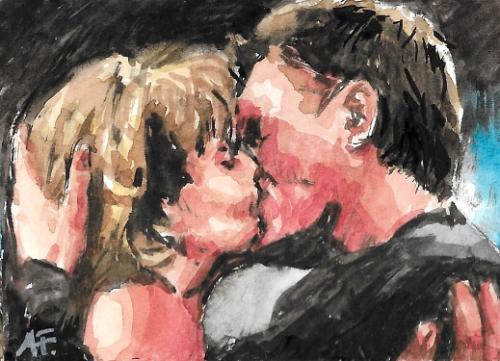Artwork The kiss