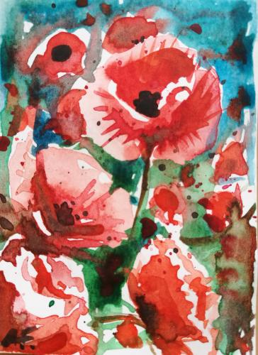 Artwork Poppies