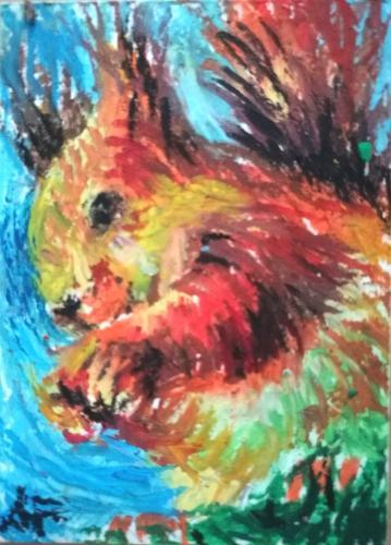 Artwork Squirrel