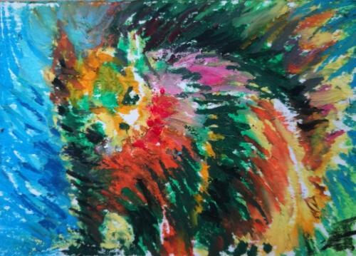 Artwork Squirrel 2